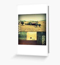 Rural  Greeting Card