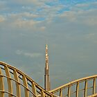 Burj Khalifa dawn by Ian Mitchell