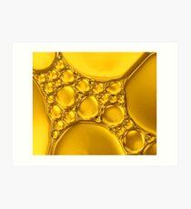 Shades of Gold Art Print