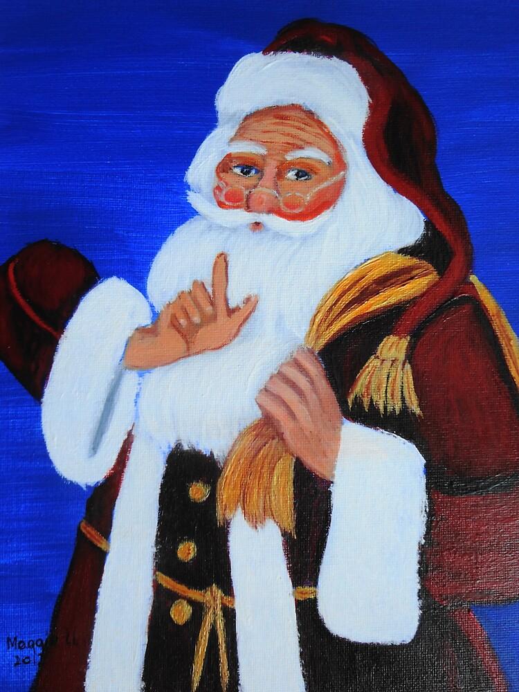Ho Ho Ho / Christmas card by maggie326