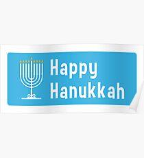 Hanukkah sticker Poster