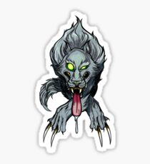 Wolfos - Zelda Monster Sticker