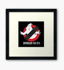 RIP Spengler Framed Print