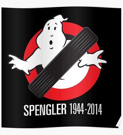 RIP Spengler Poster