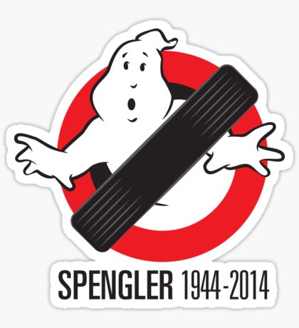 RIP Spengler Sticker