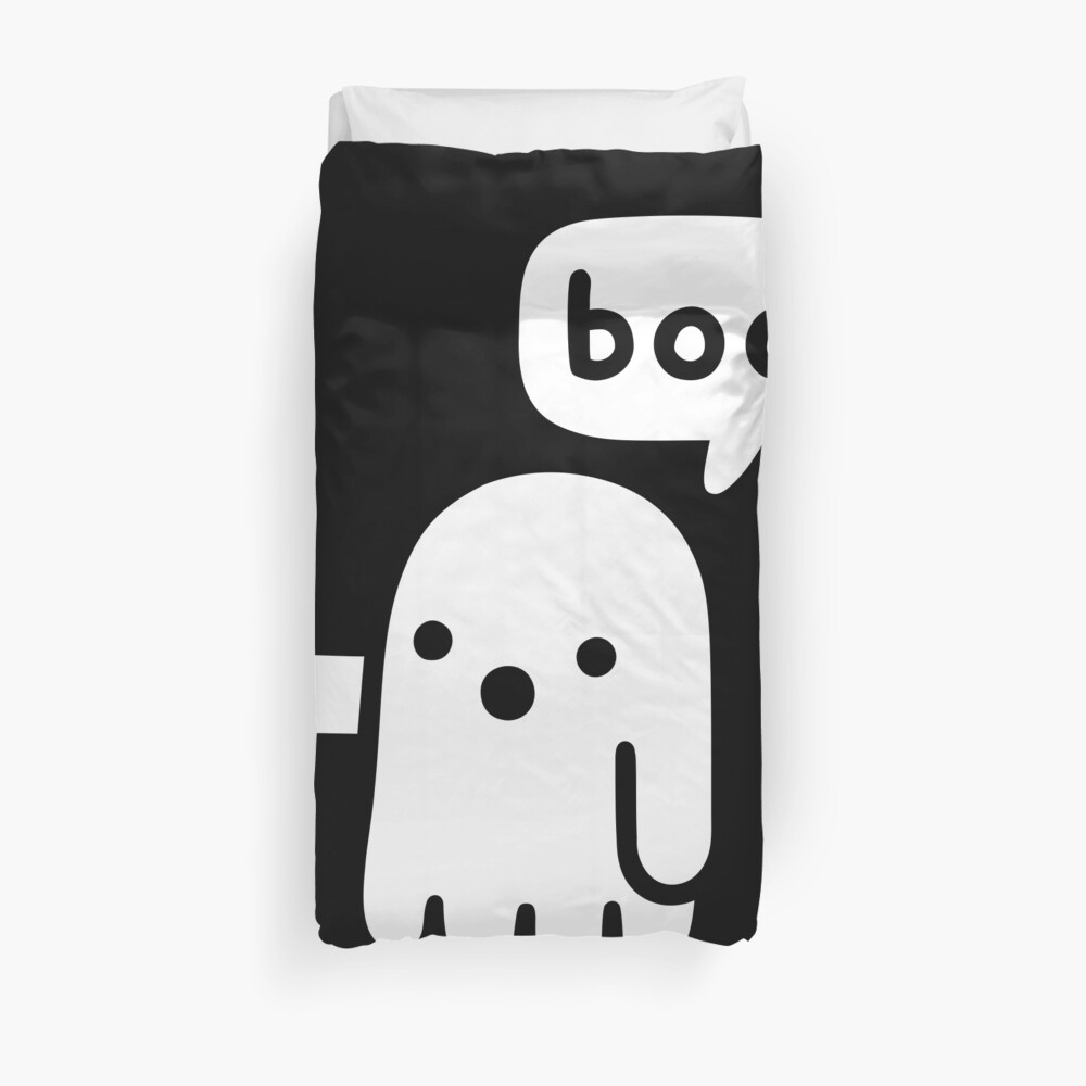 Ghost Of Disapproval Duvet Cover