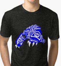 LoL - Volibear Blue & White  Tri-blend T-Shirt