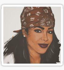 Aaliyah ( Baby Girl) Gear Sticker