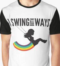 I Swing Both Ways Graphic T-Shirt
