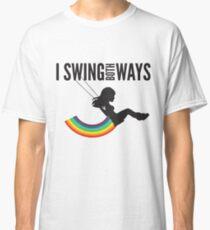 I Swing Both Ways Classic T-Shirt