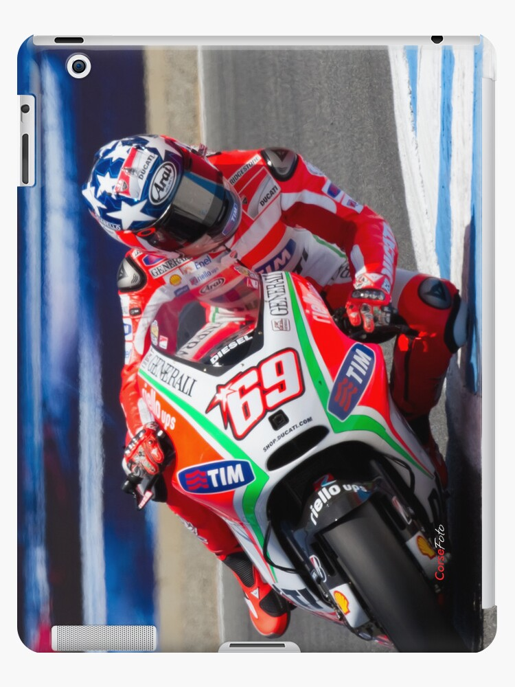 Nicky Hayden at laguna seca 2012 by corsefoto