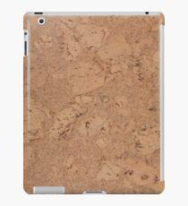 Cork flooring iPad Case/Skin