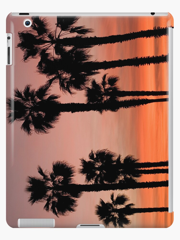 Palm Trees in the Sunset by Lisa Kyle Young
