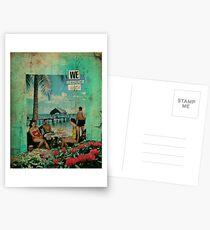 we reduce work Postkarten