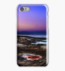 sink holes on the shore of the Dead Sea, Israel iPhone Case/Skin