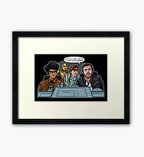 IT Wars Framed Print