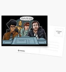 IT Wars Postcards