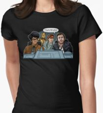 IT Wars Women's Fitted T-Shirt