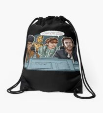 IT Wars Drawstring Bag