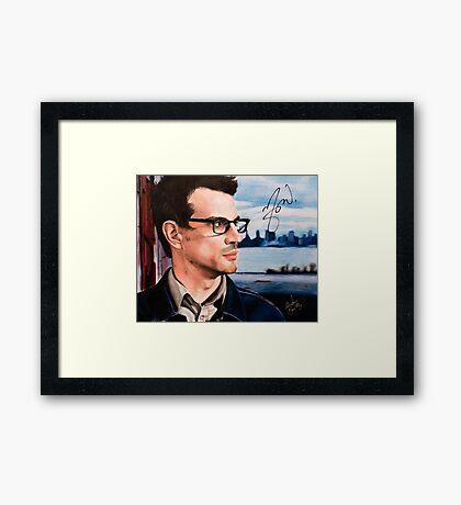Matthew Good- Vancouver Framed Print