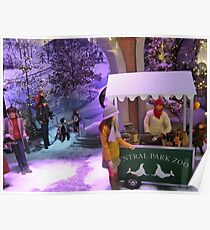 Lord & Taylor Holiday Windows, New York Poster