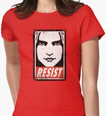 RESIST Women's Fitted T-Shirt