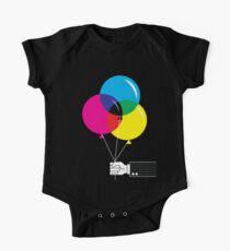 CMYK Balloons Kids Clothes