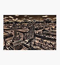 Dead center of Brookton, IR Photographic Print