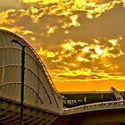 Sunrise at Meydan by Ian Mitchell