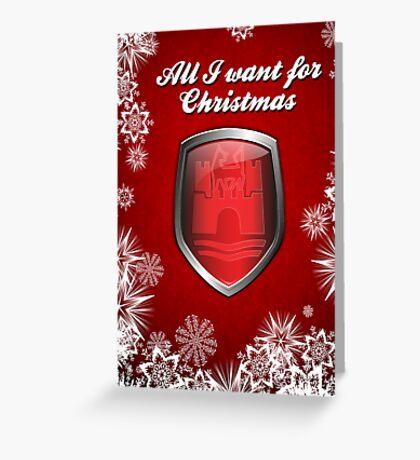 A Very Wolfsburg Christmas -Greeting Card Greeting Card