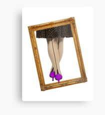 Hot Shoes - Purple! Metal Print