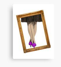Hot Shoes - Purple! Canvas Print
