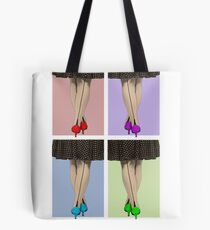 Vibrant Shoes Tote Bag