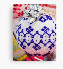 decorations for Christmas tree Canvas Print