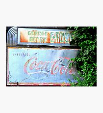 George Berry Grocery Photographic Print