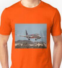 Jetstar Airbus A320, Williamtown Airport, Australia 2010  Unisex T-Shirt