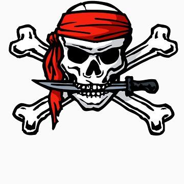 Skull & Crossbones by mjmew