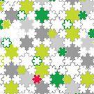 Summer snowflakes by nekineko