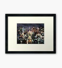 Night-Scape Framed Print