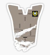 Thomas Lasky - Battle Damaged Sticker