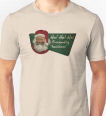 Ho! Ho! Ho! Commodity Fetishism! Slim Fit T-Shirt