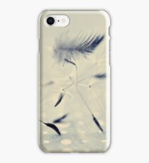 delicate balance iPhone Case/Skin