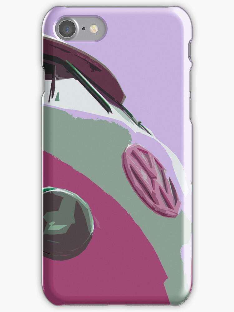 Sexy Pink Split iPhone Case by Joe Stallard