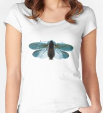 Blue Moth Women's Fitted Scoop T-Shirt