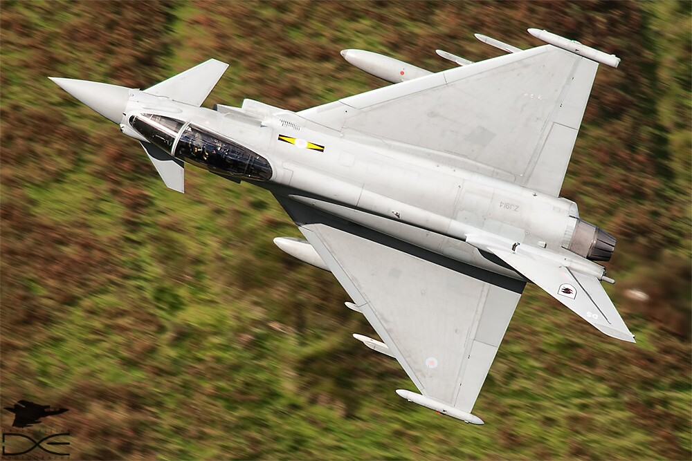 Eurofighter Typhoon Low Level by David Ellins