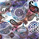 Celtic Paisley Dream by anankeblue