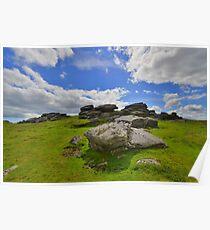 Dartmoor: Ugborough Beacon Poster