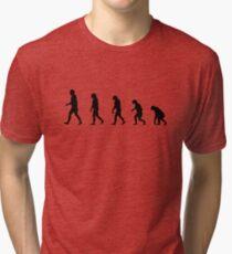 99 Steps of Progress - Conservatism Tri-blend T-Shirt
