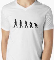 99 Steps of Progress - Conservatism Men's V-Neck T-Shirt