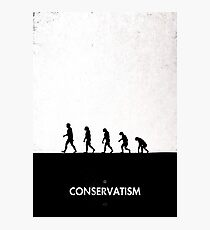 99 Steps of Progress - Conservatism Photographic Print